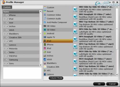 Aunsoft MTS/M2TS Converter Screenshot3