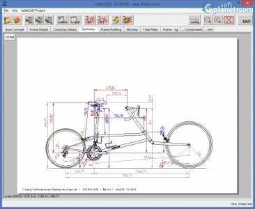 rattleCAD Screenshot5