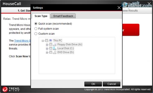 Trend Micro HouseCall Screenshot2