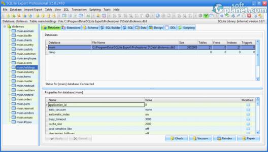 SQLite Expert Professional Screenshot5
