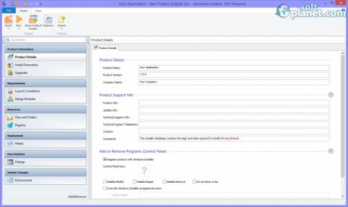 Advanced Installer Screenshot2