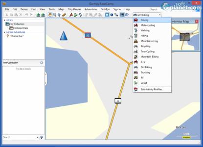 Garmin BaseCamp Screenshot3
