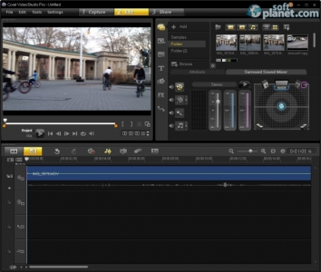 Corel VideoStudio Pro Screenshot2