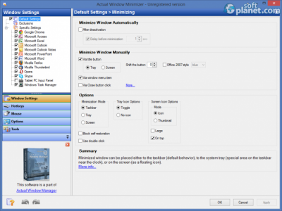 Actual Window Minimizer Screenshot3