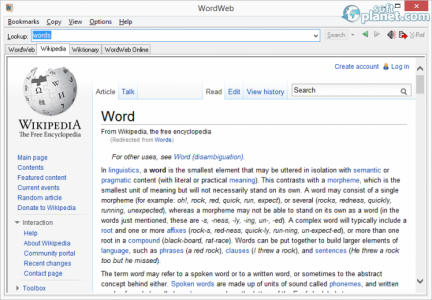 WordWeb Screenshot2