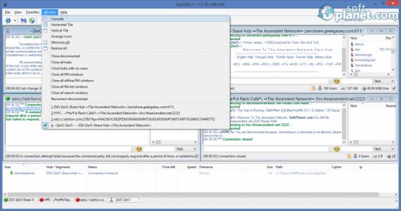 ApexDC++ Screenshot3