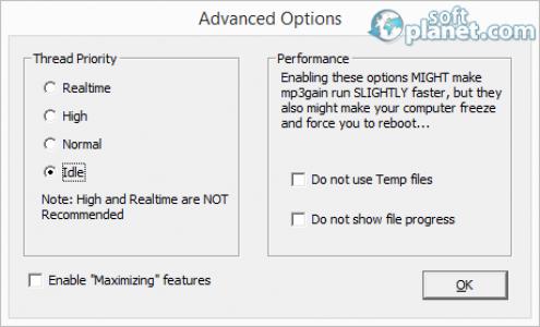 MP3Gain Screenshot2