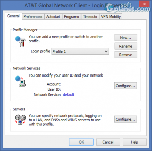 AT&T Global Network Client Screenshot4