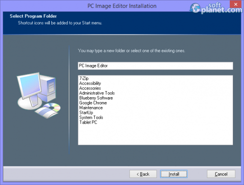 PC Image Editor Screenshot4