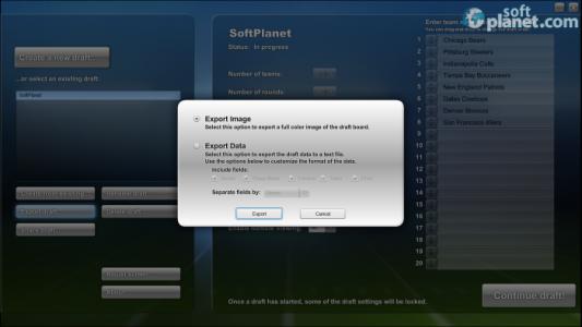 PrimeTime Draft Football 2013 Screenshot5