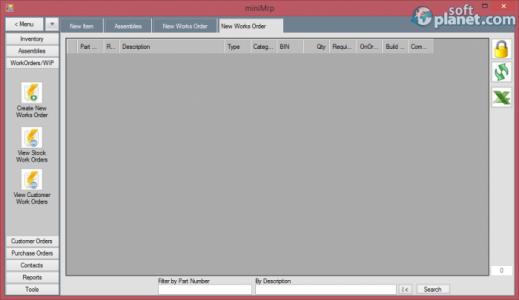 miniMRP Screenshot3