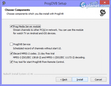 ProgDVB Screenshot4