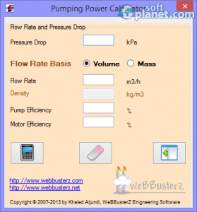 Pumping Power Calculator Screenshot3