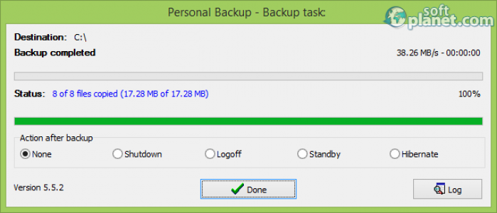 Personal Backup Screenshot3