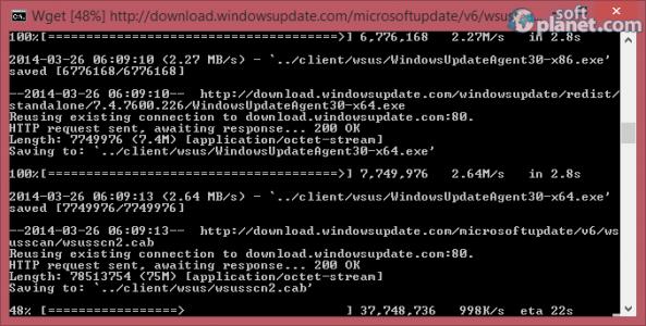 WSUS Offline Update Screenshot2