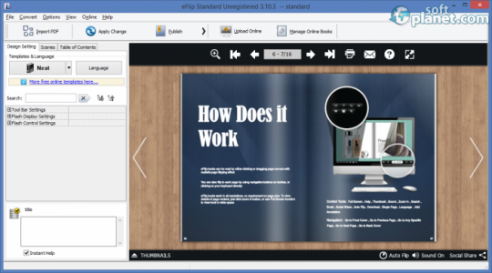 eFlip Standard Screenshot3