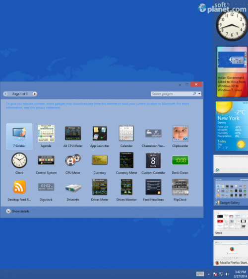 8GadgetPack for Windows 8 11.0.0