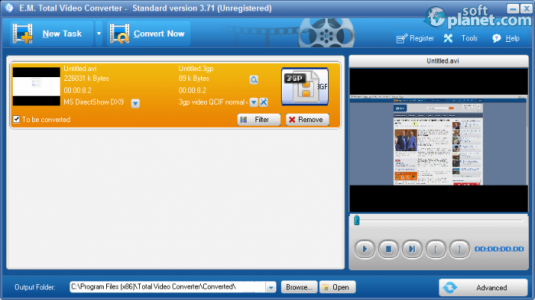 Total Video Converter Screenshot5