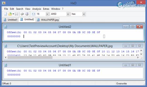 HxD Hexeditor Screenshot3