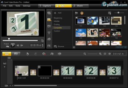 Corel VideoStudio Pro Screenshot3