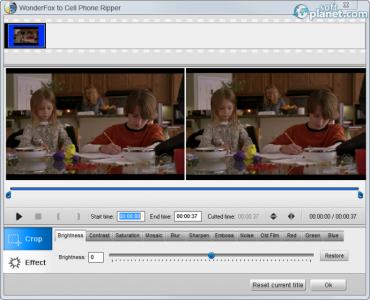 WonderFox DVD to Cell Phone Ripper Screenshot2