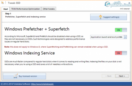Tweak-SSD Screenshot4
