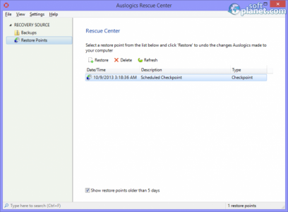 Auslogics Registry Cleaner Screenshot3