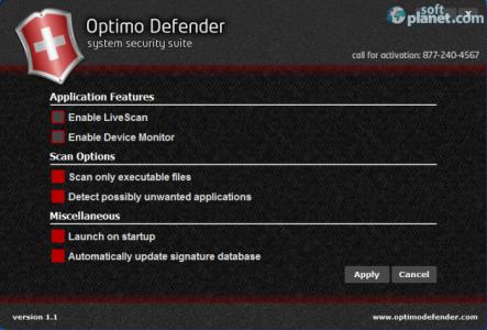Optimo Defender AntiVirus Screenshot4