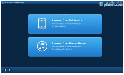 Leawo iOS Data Recovery Screenshot2