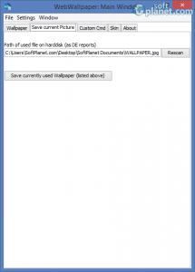 WebWallpaper Screenshot2