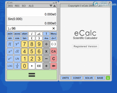 eCalc Screenshot2
