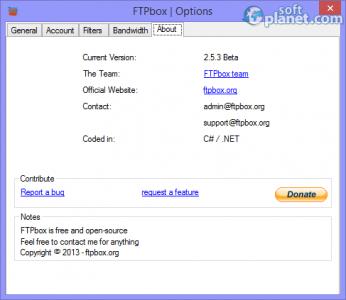 FTPbox Portable Screenshot5