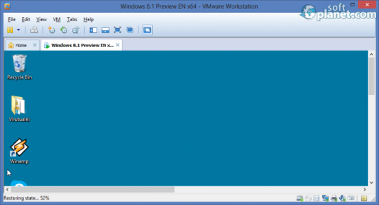 VMware Workstation Screenshot2