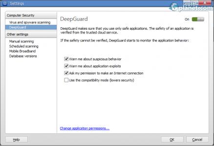 F-Secure Anti-Virus Screenshot5