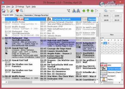 TV-Browser Screenshot3