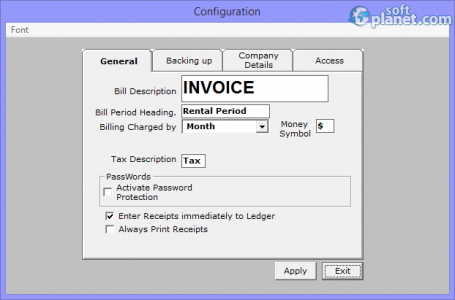 Tenant Billing Screenshot2