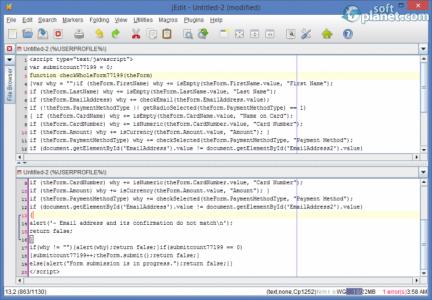 jEdit Screenshot2