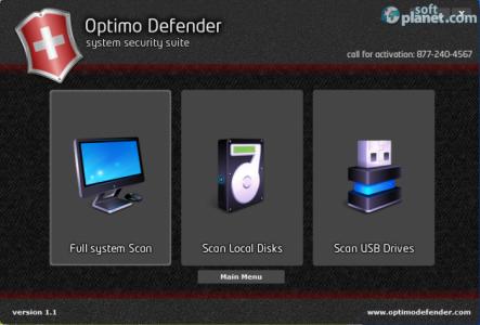 Optimo Defender AntiVirus Screenshot2