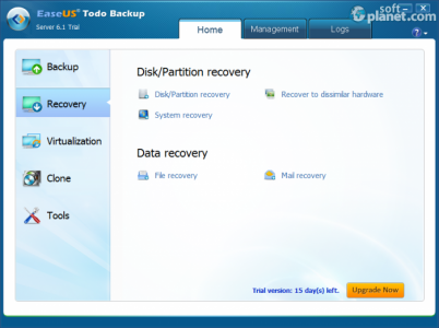 EASEUS Todo Backup Server Screenshot4