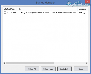 Eusing Free Registry Cleaner Screenshot4