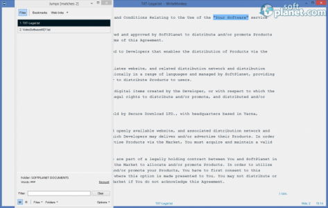 WriteMonkey Screenshot2
