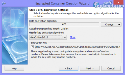 Exlade Cryptic Disk Professional Screenshot3