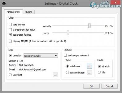 Digital Clock Screenshot2