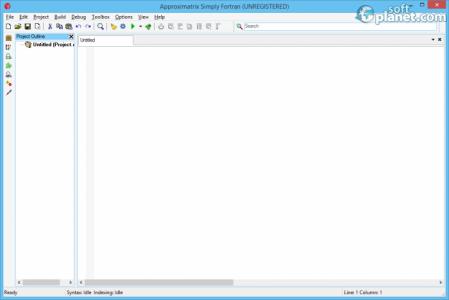 Simply Fortran Screenshot2