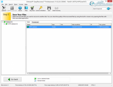 Ontrack EasyRecovery Professional Screenshot4