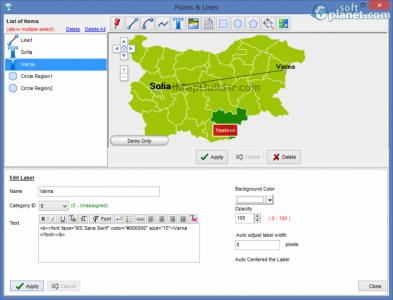 iMapBuilder Screenshot2