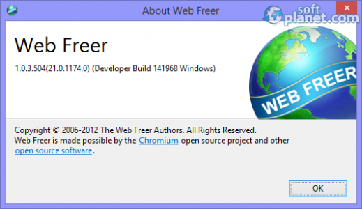 Web Freer Screenshot3