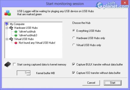 Simple USB Logger Screenshot2