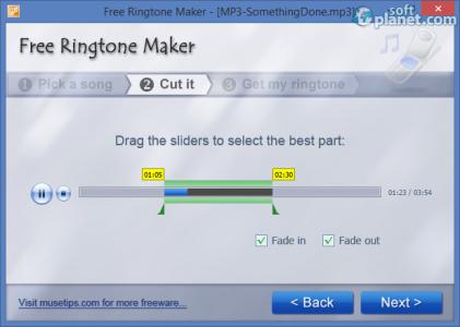 Free Ringtone Maker Portable Screenshot2