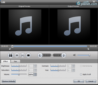 AnyMP4 Audio Converter Screenshot2